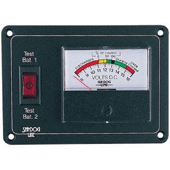 Sea-Dog Line Battery Monitor with Expanded 423112