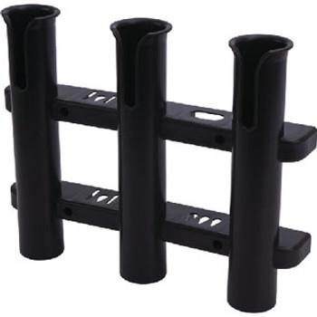Sea-Dog Line Three Pole Rod Strg Rack Black 325039-1