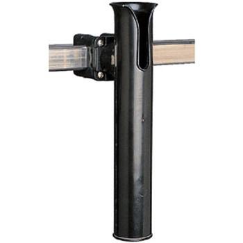 Sea-Dog Line Poly Rail Mount Rod Holder  Black 327165-1