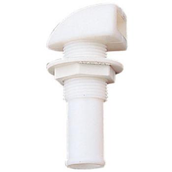 Sea-Dog Line Gas Tank Vent Nylon White 357105-1