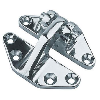 Sea-Dog Line Hinge Hatch Chrome Brass 204280-1