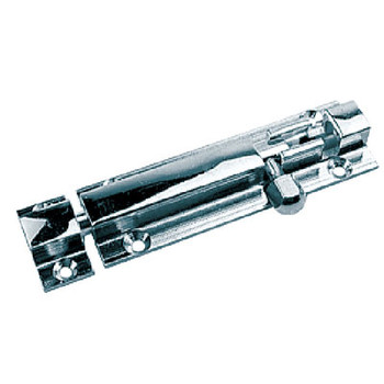 """Sea-Dog Line Barrel Bolt 2"""" Chrome Brass 222501-1"""