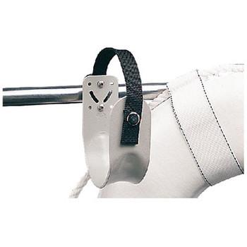Sea-Dog Line Rail Mount Aluminum Ring Buoy 327130-1