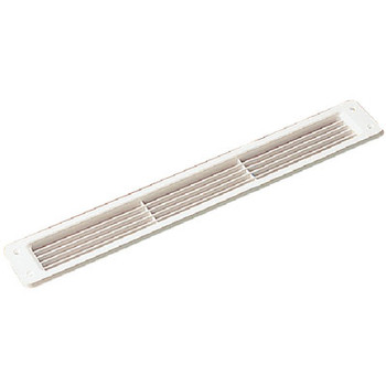 Sea-Dog Line Louvered Vent White 337210-1