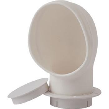 Sea-Dog Line 3 PVC Standard Profile Cowl Vent White 727137-3