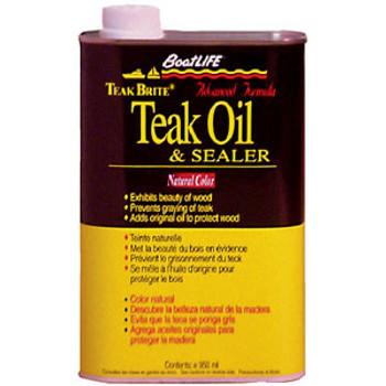 Boat Life Teak Bright Teak Oil-Quart 1088