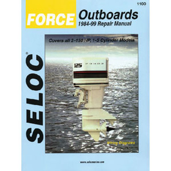 Seloc Publishing Manual Honda 02-08 2-225hp 1-6Cyl 1202