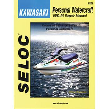 Seloc Publishing Manual Kawasaki PWC 73-91 9200