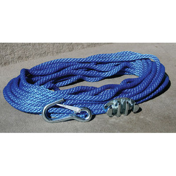 Panther Anchor Rope 100'with Cleat & Hook 757010