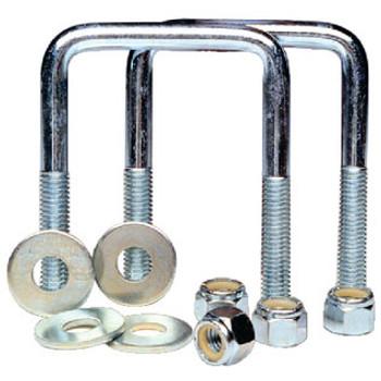 "Tiedown Engineering U-Bolts 1/2 1/8"" x 4 2/Cd 86204"