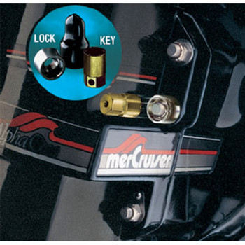McGard Locks Stern Drive Lock Twin 7/16 74019