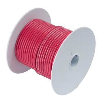 Ancor 1 Ga Red Tinned Wire 25' 115502