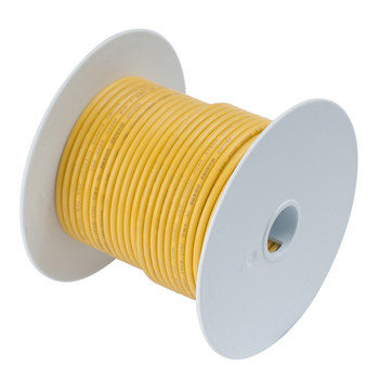 Ancor 1/0 Yellow Tinned Wire 25' 116902