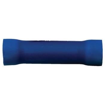 Ancor #6 Blue Vinyl Butt Connector (25) 210140