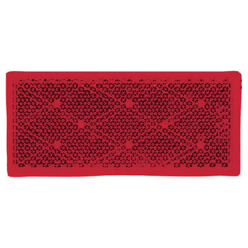 Anderson Marine Red Reflector-Stick On 2/Pk E483R