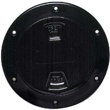Beckson Marine 4 Black Screw-In Deck Plate Dp40-B