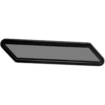 Beckson Marine Window-Fixed Black/Smoke 1Pr/Bx Pf128Bs
