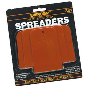 Evercoat Plastic Spreader Kit (3/Cd) 1100381