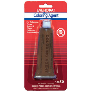 Evercoat Coloring Agent-Brown 1oz 100506
