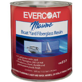 Evercoat Boatyard Resin Gallon with Wax 100517