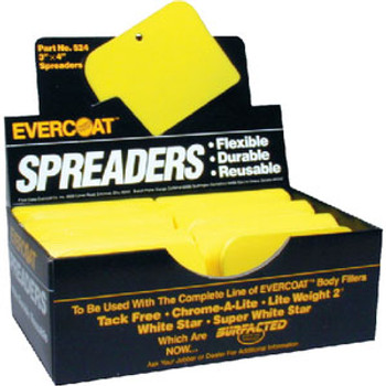 Evercoat 3 x 4 Spreaders - Bulk 72/Bx 100524