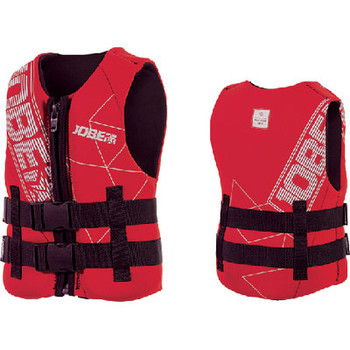 Jobe Sports PFD Neoprene Vest Youth Red 247718008