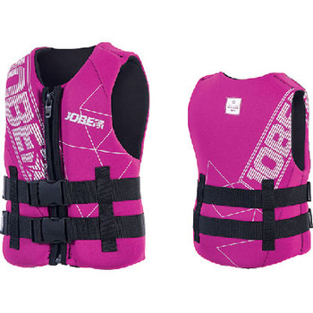 Jobe Sports PFD Neoprene Vest Youth Pink 247718009