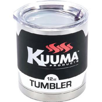 Kuuma Grills Tumbler-SS W-Lid 12oz 58420