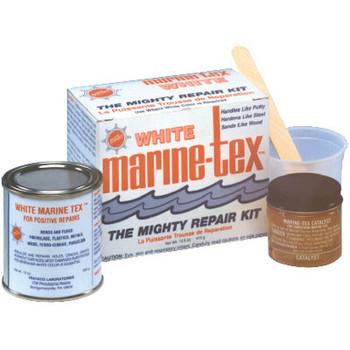 Marinetex 10 Lb White Marine-Tex Kit-Gallon Rm308K