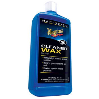 Meguiars 1 Step Boat Cleaner/Wax 32oz M-5032