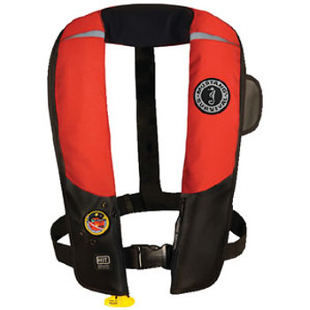 Mustang Survival HIT Inflatable PFD Auto Black/Red Md318302-123