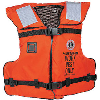 Mustang Survival Work Vest with Solas Tape Adult U Mv3192