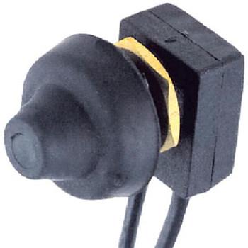 Perko Black Plastic Push Button Switc 0701Dp