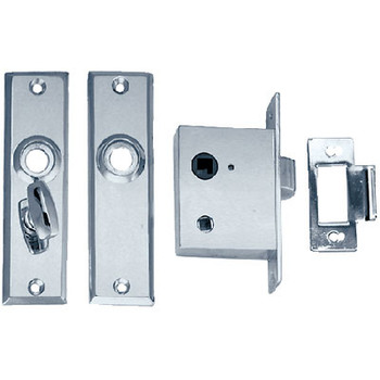 Perko Mortise Lock Set with Turn Butto 0960Dp0Chr