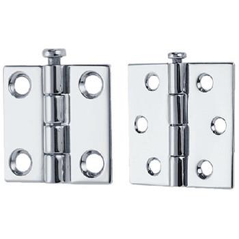 Perko 1-1/2X1-1/2 Rem Pin Hinge(1Pr 1293Dp2Chr