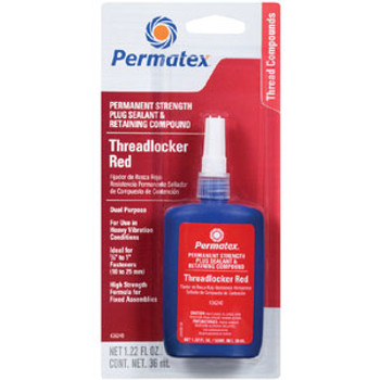Permatex Red Permanent Threadlock 36Ml 26240