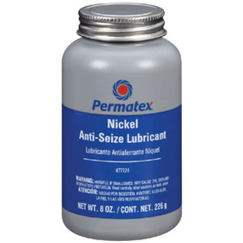 Permatex P Nickel Anti Seize 8oz Bot 77124
