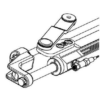 Uflex Cylinder-Silversteer Ver 2 Uc128-Svs 2