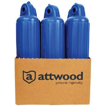 Attwood Marine Fender 4X16 Blue 9354Bd1