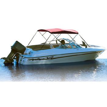 Attwood Marine Bimini Top Fab 61-67W Blue Vyl 341Bl