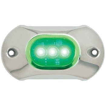 Attwood Marine Underwater 3 LED Green 65Uw03G-7