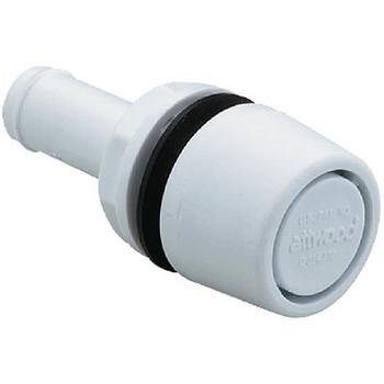 Attwood Marine Fuel Vent White Poly 5/8(Bulk) 1607A1
