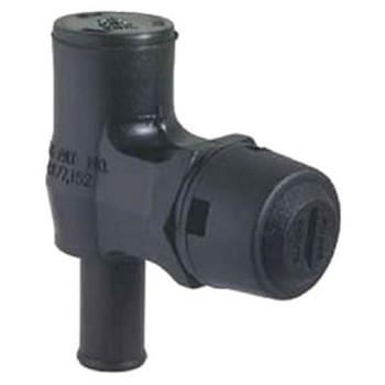 Attwood Marine Gas Vent Black 90 Degree 1670-3