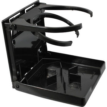 Attwood Marine Dual Ring Drink Holder-Black 2445-7