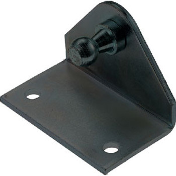 Attwood Marine 90 Bracket Black with Rev 10mm Sl50Bp3R-7