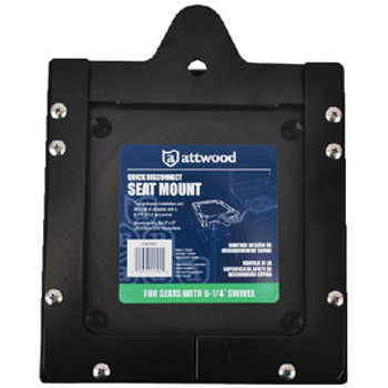 Attwood Marine Quick Disconnect Seat Mount 6 1/4 11602D1