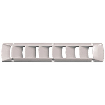 Attwood Marine Louvered Vent-Off White 1495-1