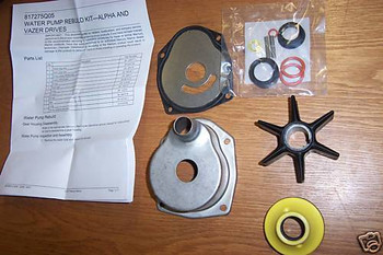 OEM MerCruiser alpha one 1 gen 2 two water pump impeller service kit 817275Q05