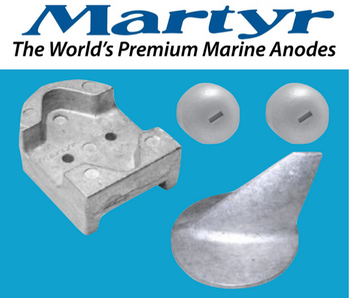 Martyr MerCruiser Alpha Gen 1 Anode Kit (Aluminum) CMALPHAGEN1KITA