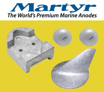 Martyr MerCruiser Alpha Gen 1 Anode Kit (Magnesium) CMALPHAGEN1KITM